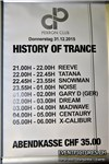 History of Trance @ Perron Club, Bern (BE) 1