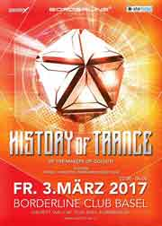 History of Trance - Club Borderline, Basel (BS) - 03.03.2017