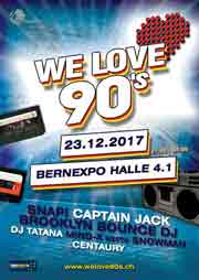 EventPictures.ch - We Love 90's - Bernexpo, Halle 4.1, Bern (BE) - 23.12.2017