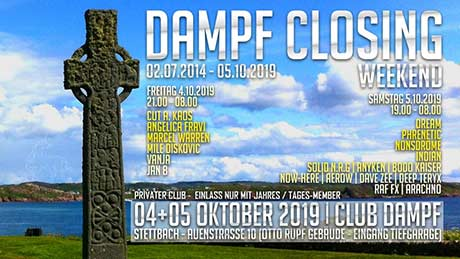 EventPictures.ch - Dampf closing (Fr. & Sa.) - Club Dampf, Dübendorf (ZH) - 04.10.2019