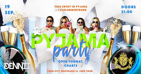 PYJAMA Party - The Castle Club, Thun (BE) - Sa. 19.09.2020